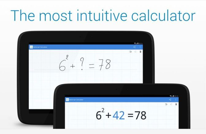 The most intuitive calculator